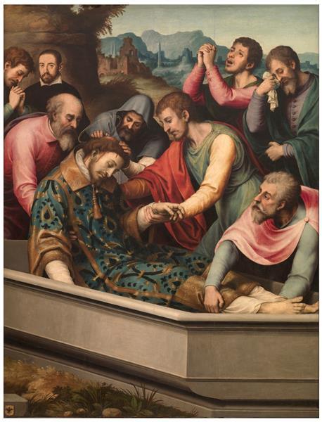Entierro De San Esteban, 1555 - 1562 - Juan de Juanes