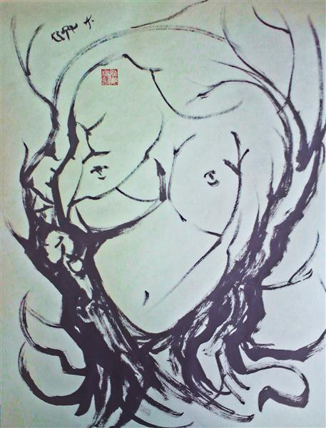 Something feminine, 2014 - Alfred Freddy Krupa