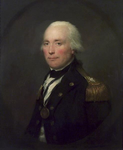 Portrait of Robert Calder - Lemuel Francis Abbott