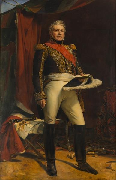 Nicolas-joseph Maison, Maréchal de France en 1829, 1829 - Léon Cogniet