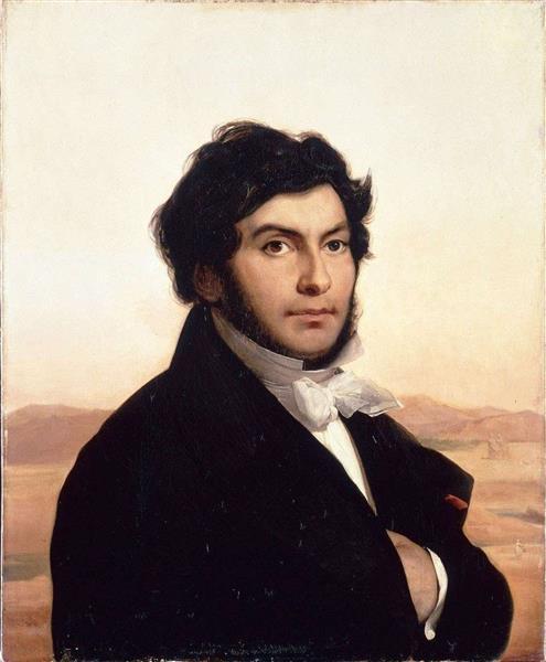 Portrait of Jean-françois Champollion, 1831 - Léon Cogniet