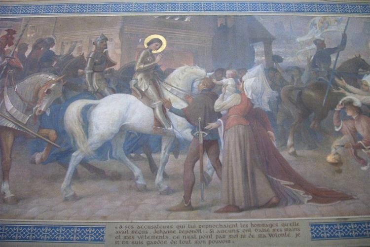 Scène De La Vie De Jeanne D'Arc, 1913 - Lionel Noel Royer