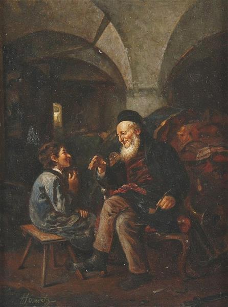 Solomonic Wisdom, c.1900 - Ludwig Knaus