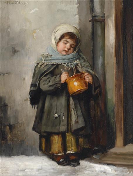 Der Milchtopf - Marianne Stokes