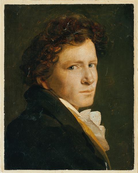 Brustbild Eines Jungen Mannes - Philipp Otto Runge