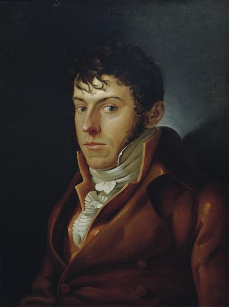 Der Maler Und Schriftsteller Friedrich August Von Klinkowström, 1808 - Philipp Otto Runge