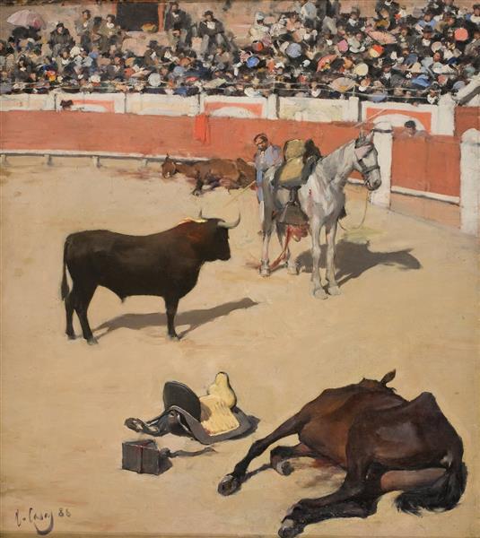 Bulls (dead Horses) - Ramon Casas