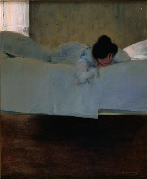 Laziness, 1900 - Ramon Casas