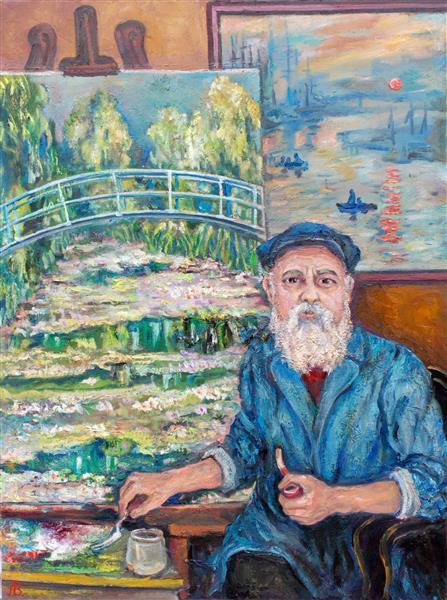 Oscar-Claude Monet 1840-1926, 2017 - Andrey Allakhverdov