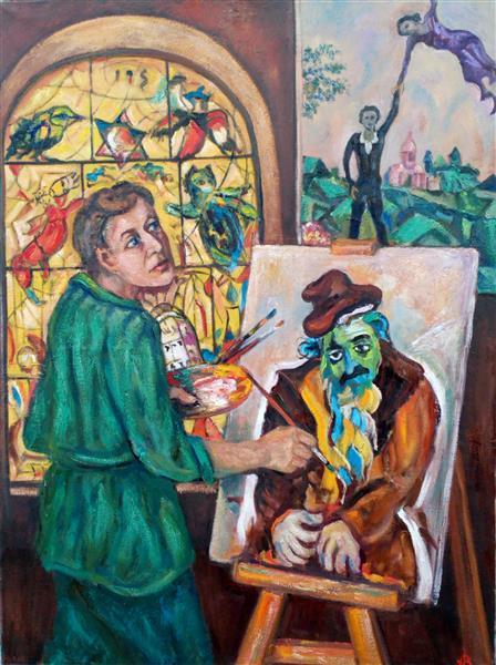 Marc Shagall 1887-1985, 2016 - Andrey Allakhverdov
