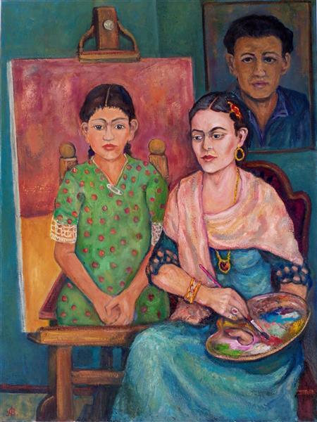 Frida Kahlo 1907-1954, 2017 - Andrey Allakhverdov