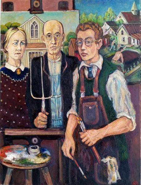 Grant Devolson Wood 1891-1942, 2017 - Andrey Allakhverdov