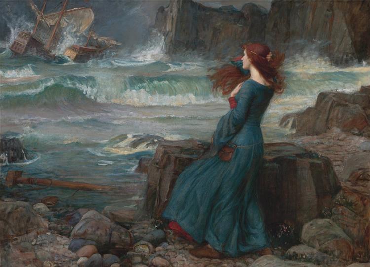 Miranda, 1916 - John William Waterhouse