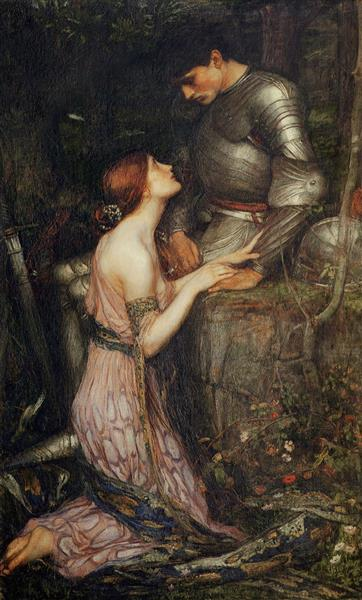 Lamia and the Soldier, 1905 - John William Waterhouse