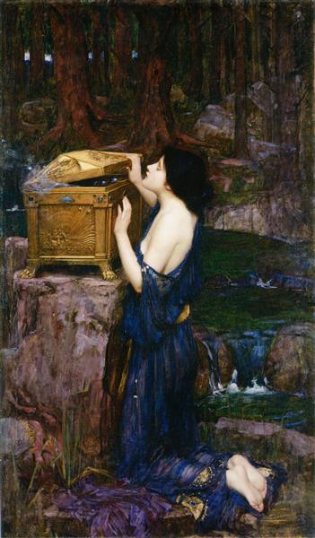Pandora, 1898 - John William Waterhouse