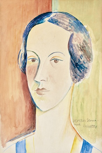 Portrait of Hollós Ilona, c.1930 - Kmetty János