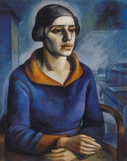 The Painter's Wife, c.1918 - Kmetty János