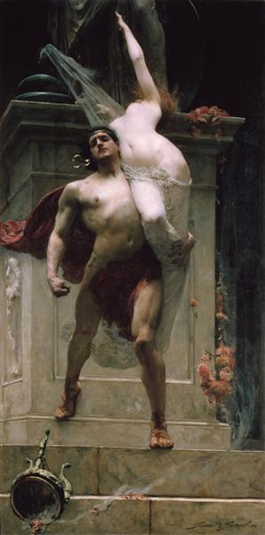 Solomon Ajax and Cassandra - Solomon Joseph Solomon