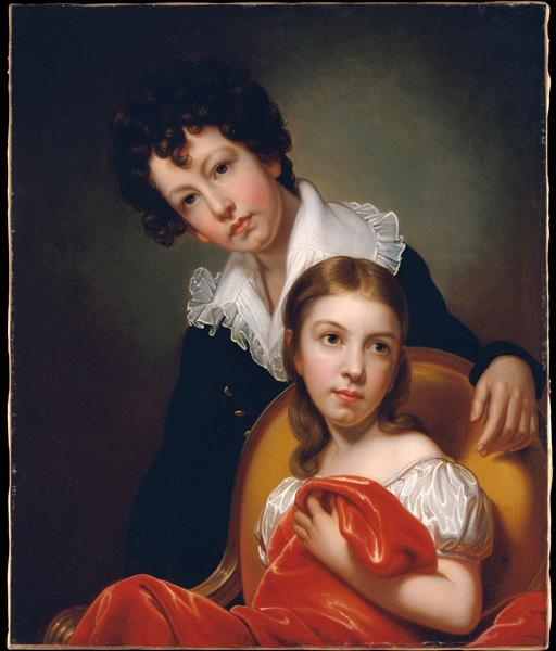 Michael Angelo and Emma Clara Peale - Rembrandt Peale