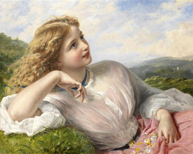 The Song of the Lark, c.1903 - Sophie Gengembre Anderson