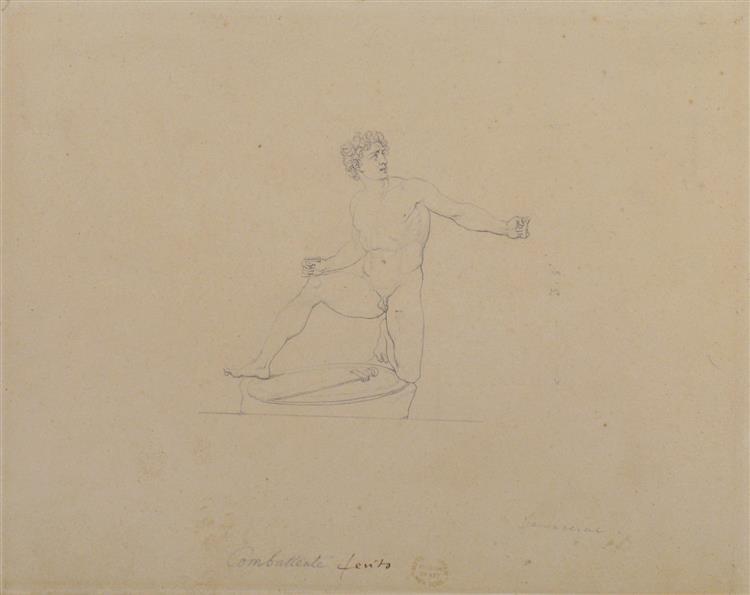 Kneeling Gladiator - Vincenzo Camuccini