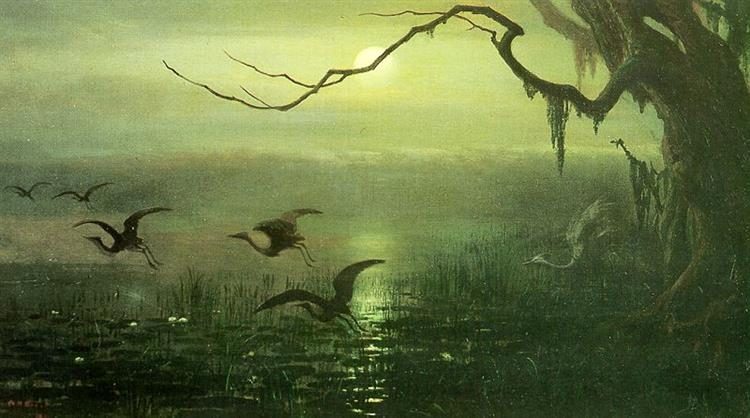 Phantom Crane, 1891 - William Holbrook Beard