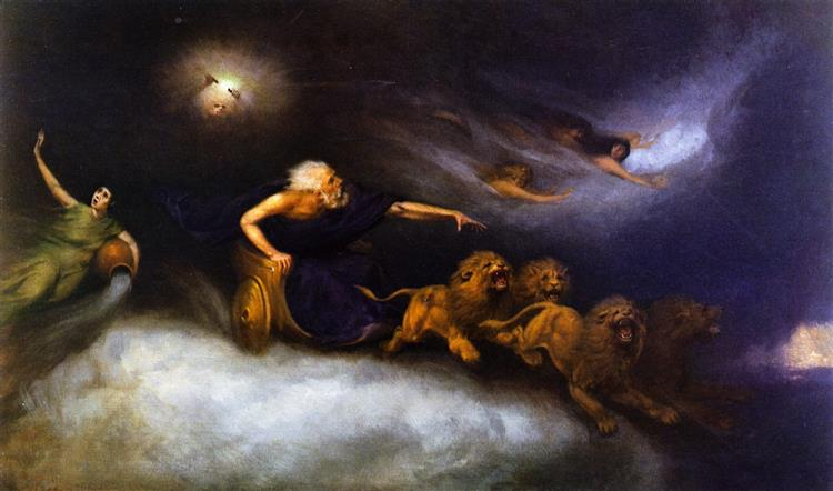 The Spirit of the Storm, 1872 - William Holbrook Beard