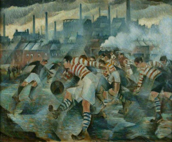 Any Wintry Afternoon in England, 1930 - C. R. W. Nevinson