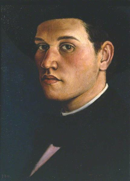 Self Portrait, c.1911 - C.R.W. Nevinson