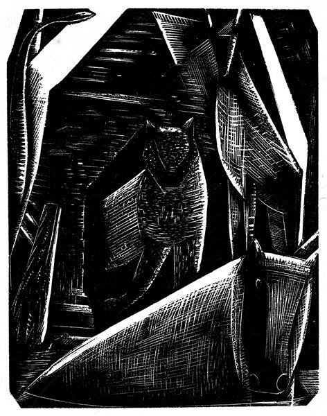 The Creation of Animals, 1924 - Paul Nash