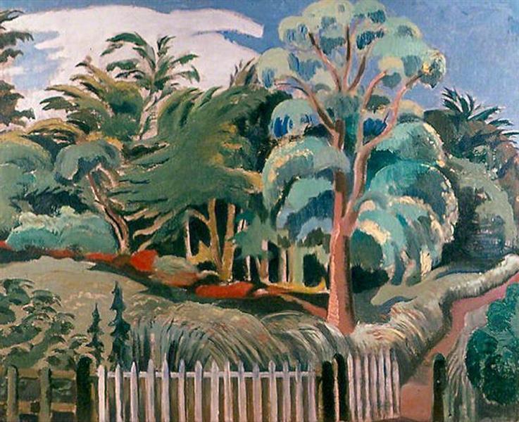 The Edge of the Wood, c.1919 - Paul Nash