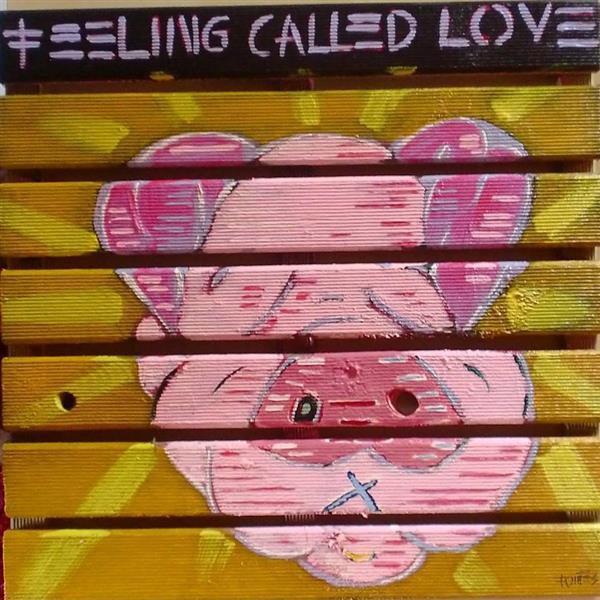 Feeling called love, 2017 - Paulo Fontes