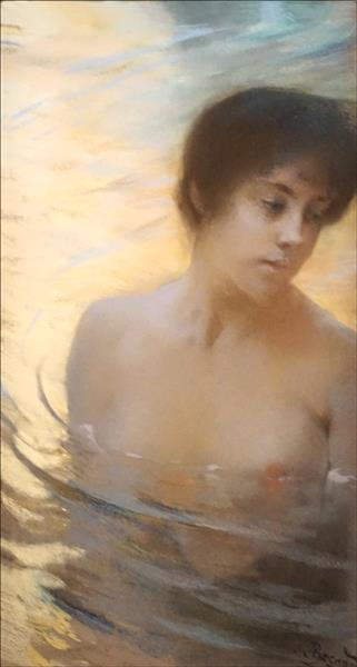 Baigneuse, c.1900 - Paul-Albert Besnard