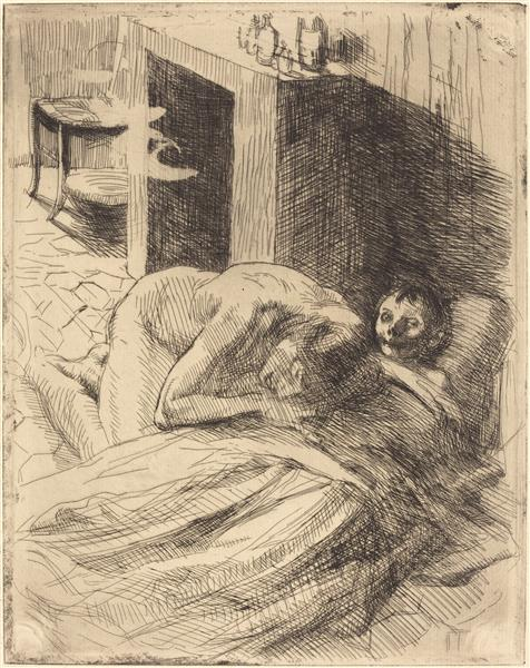 Misery, 1886 - Paul-Albert Besnard