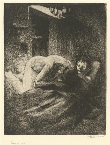 Misery, c.1886 - Albert Besnard
