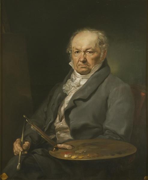 Francisco De Goya Y Lucientes, after Vicente López Portaña - Rosario Weiss Zorrilla