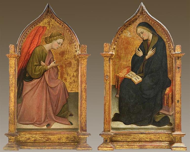 Annunciation Dyptic, c.1417 - c.1420 - Álvaro Pires de Évora