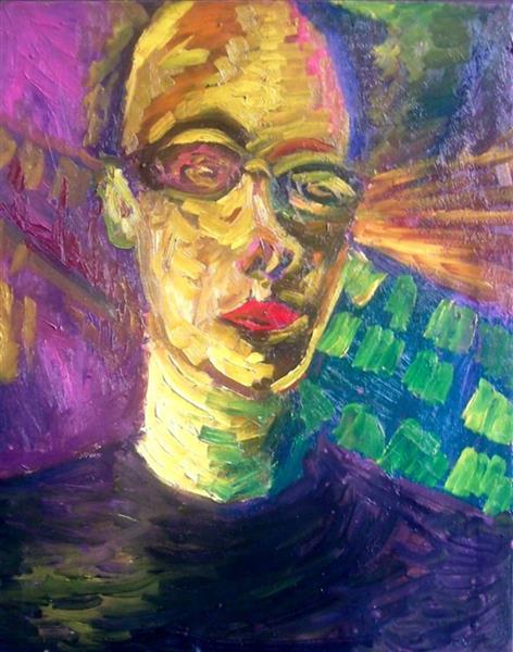 self-portrait, 2016 - Damian Kozi
