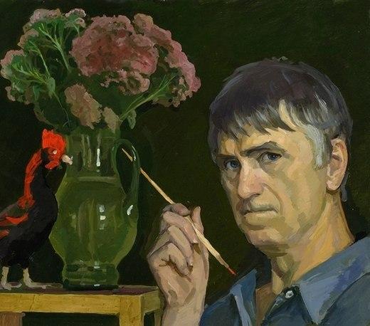 Self Portrait, 1993 - Жилинский, Дмитрий Дмитриевич