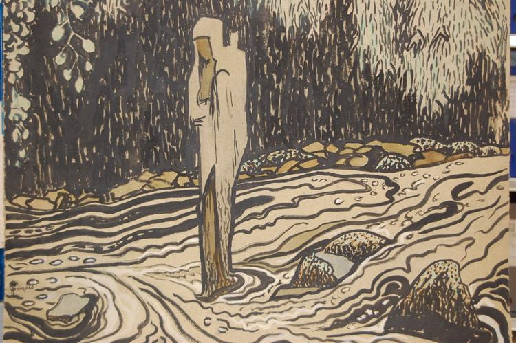 Spirit of the waters, 1922 - Hélène Guinepied
