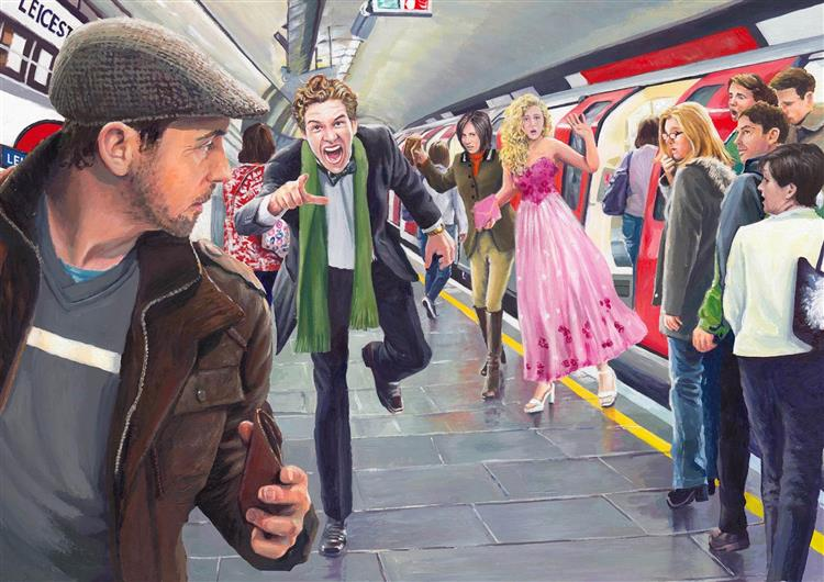 Turmoil on the Tube, 2017 - David Young