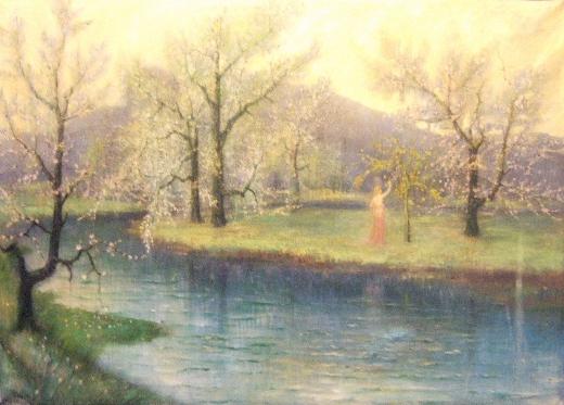 Freyas Garten, c.1913 - Hermann Hendrich