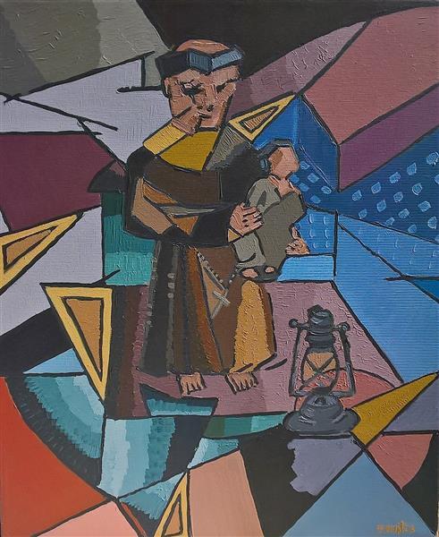Santo António E O Menino (2), 2020 - Paulo Fontes