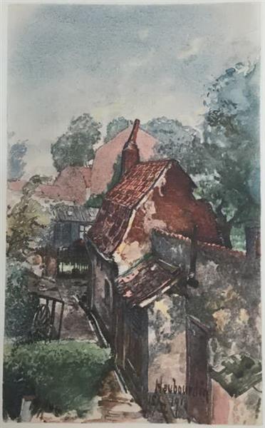 Fromelles, 1916 - Адольф Гітлер