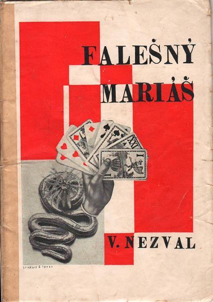Cover for Falešný Mariás - Jindrich Styrsky
