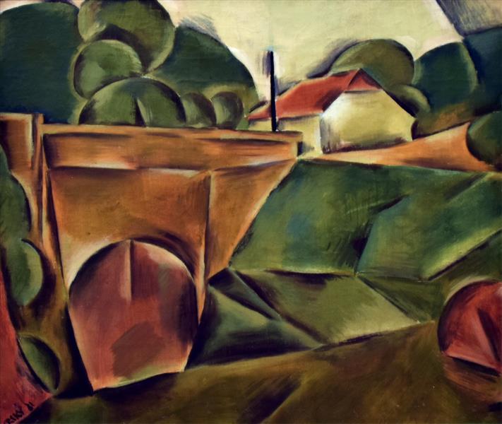 Krajina S Mostem, 1921 - Jindrich Styrsky