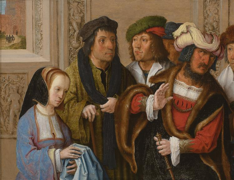 Joseph Being Taken to Prison, c.1512 - Lucas van Leyden