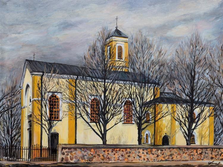 Żary's Church, c.2019 - Małgorzata Serwatka