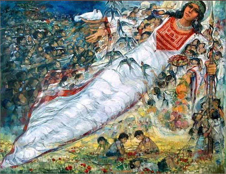 Dreams of tomorrow .., 1997 - 2000 - Ismail Shammout