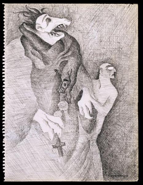 Do You Know My Aunt Eliza?, 1941 - Leonora Carrington